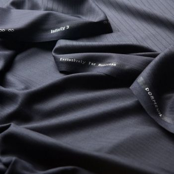 November, Huntsman releases Infinity 3, judged the best wool on the market, sourced personally by Dominic Dormeuil from Saxon Merino wool in New Zealand