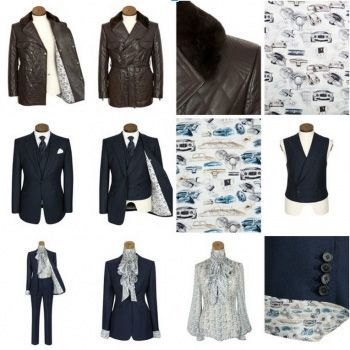 Huntsman collaborates with Bentley Motorcars for a small range of bespoke garments