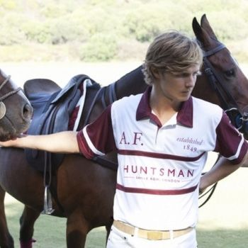 2014 - Huntsman's first polo team rides to victory at Sotogrande in Spain