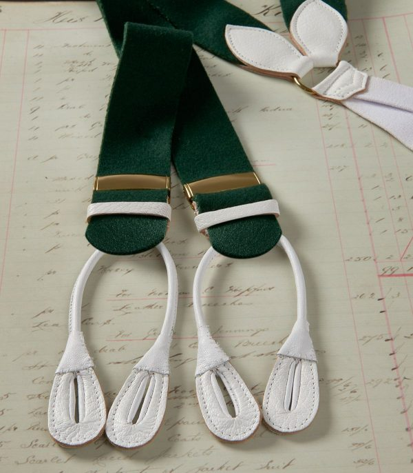 Huntsman Green Boxcloth Braces
