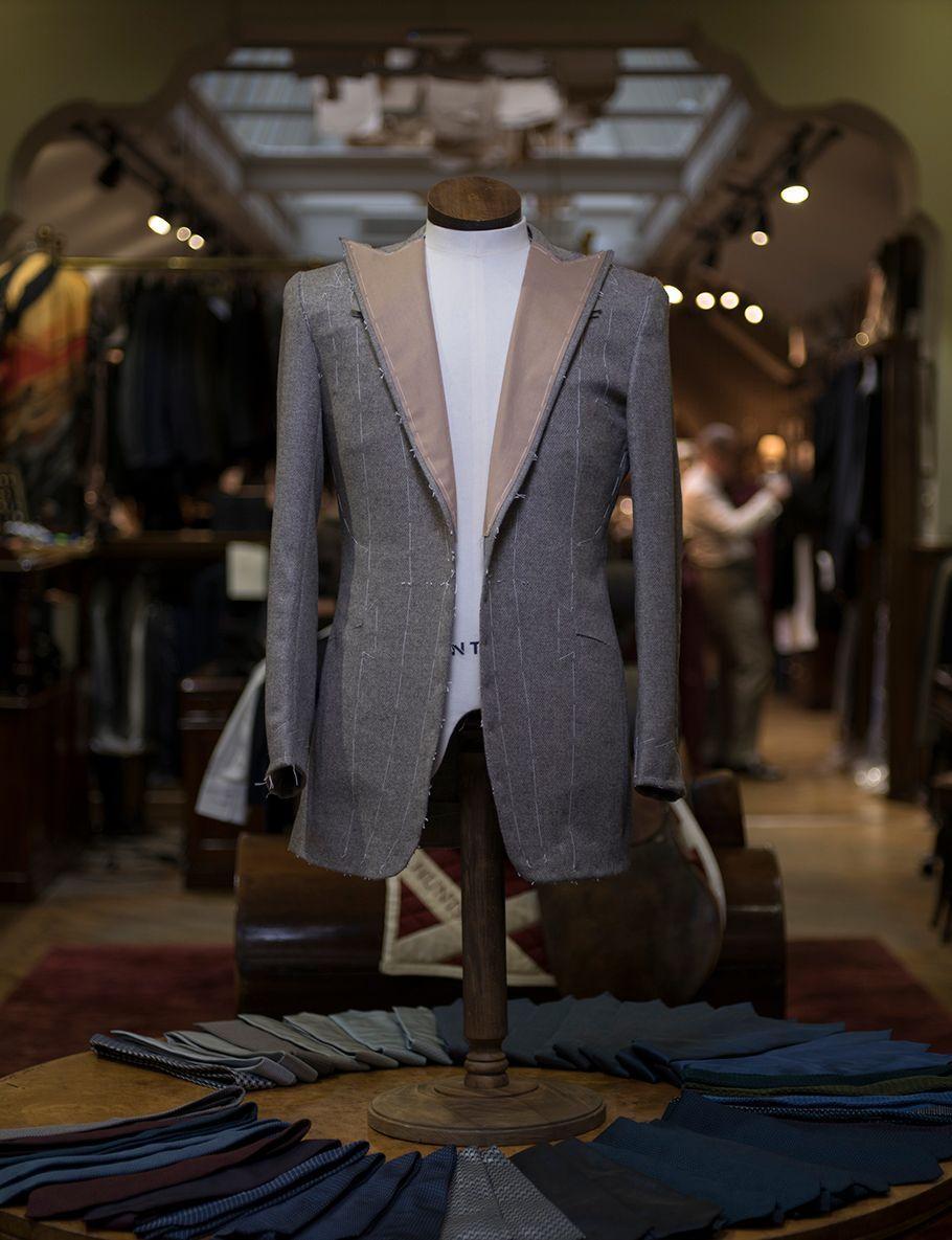 Mongolian Yak Fibre used in Huntsman Tailored Jacket