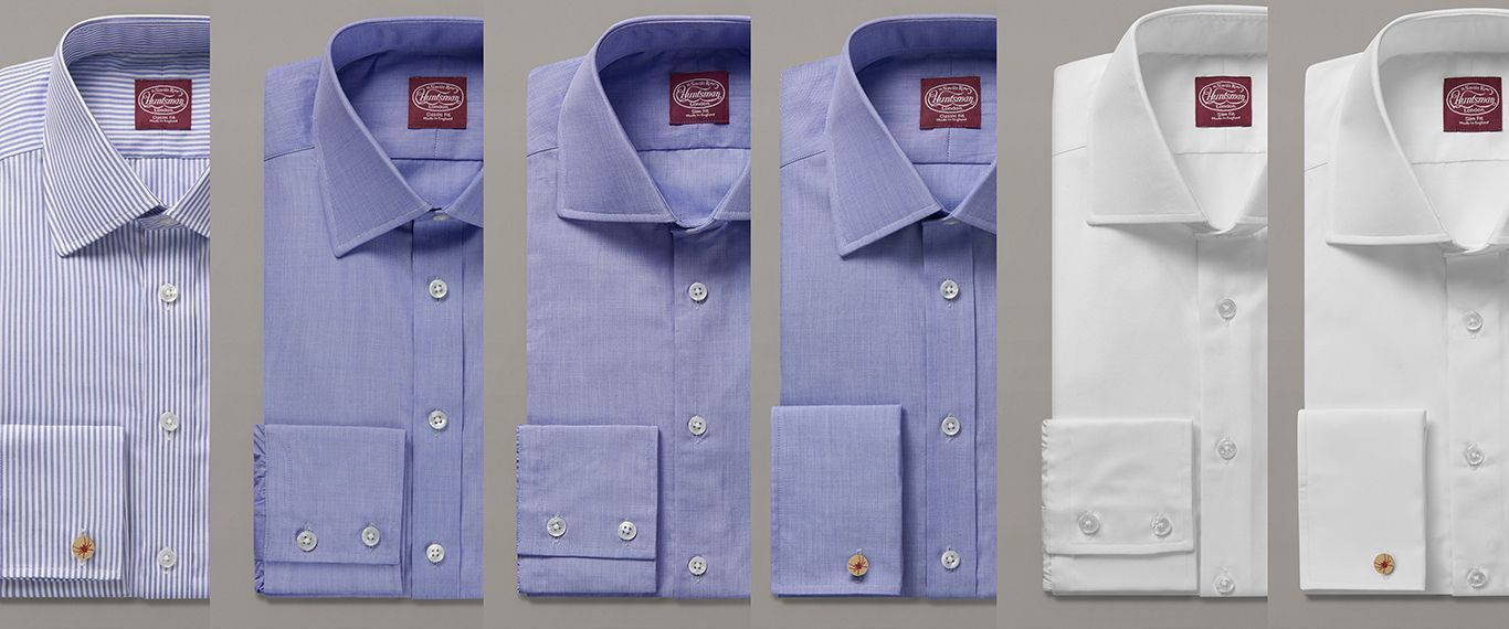 A Cut Above The Rest  Huntsman Design Meets Turnbull   Asser Shirt ... a6aaf1e9415d5