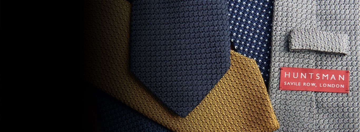 Huntsman Ready To Wear Ties Shop Header - Selection of Knitted Ties