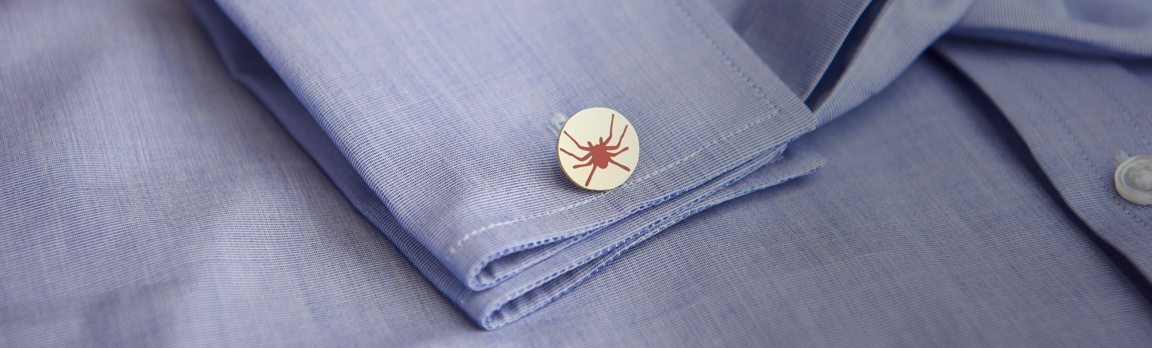 Huntsman Ready to Wear Shirt Shop Header Image - Shirt with Gold Cufflink