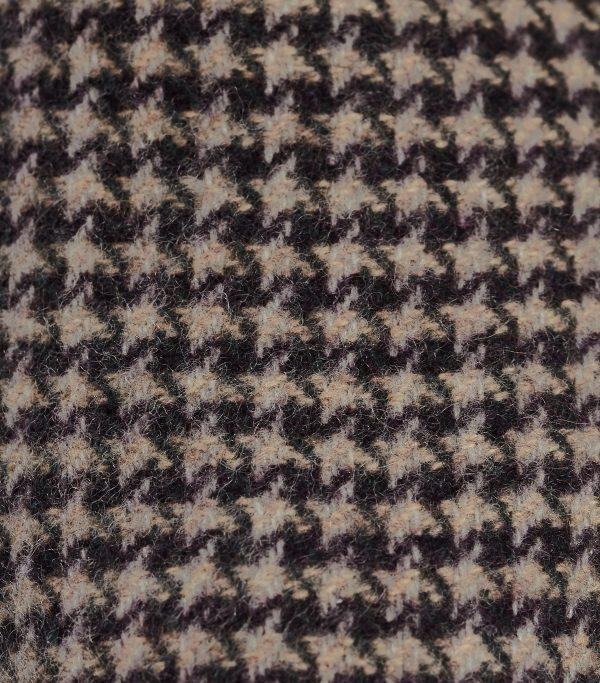 Exclusive Cashmere Tweed Design Slippers