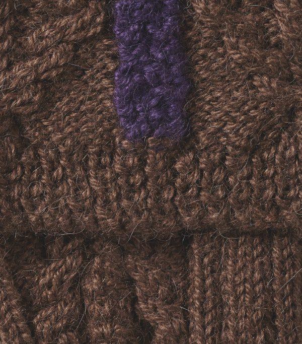 Brown Shooting Stocking- Knitted Socks