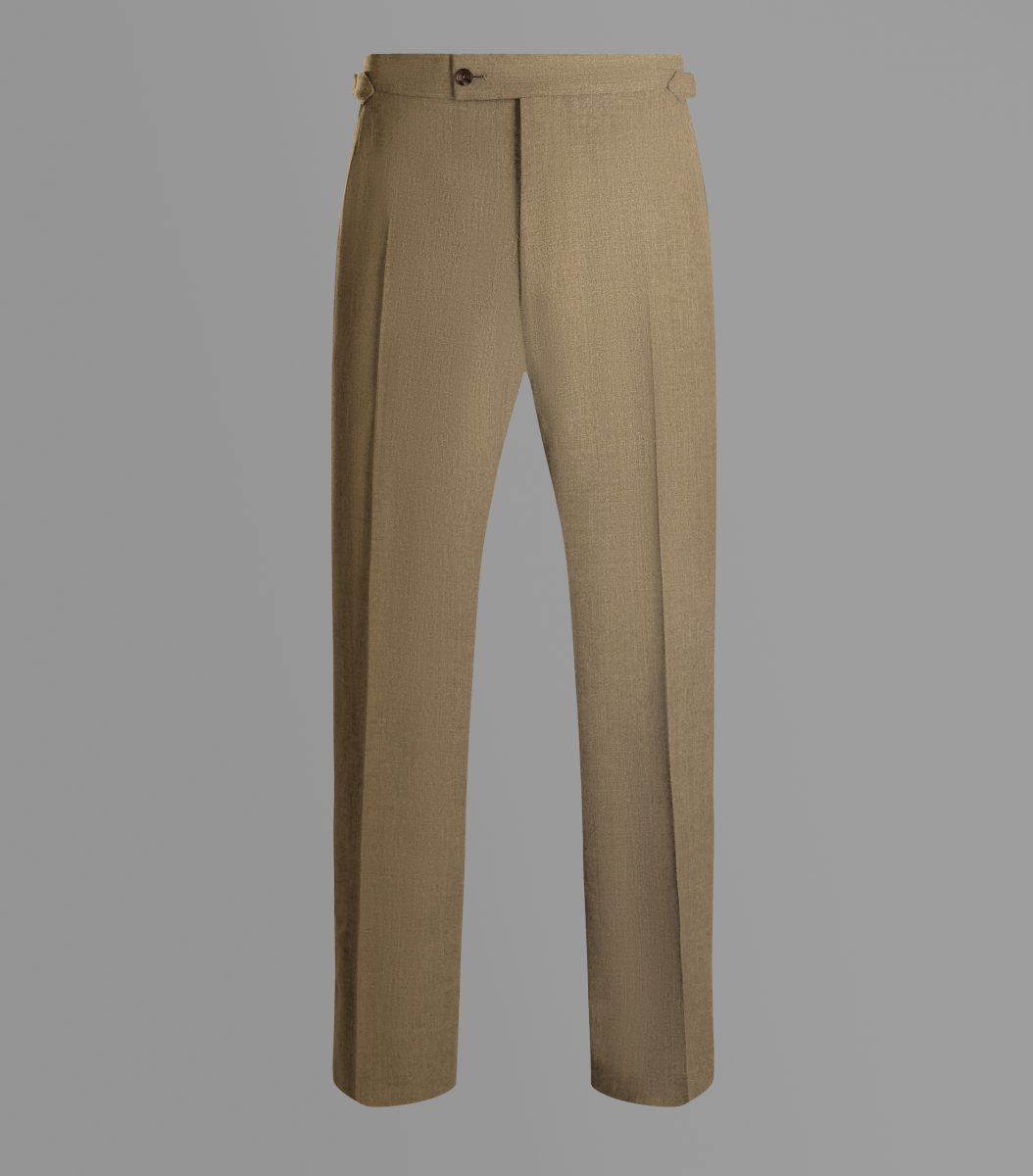 Huntsman Irish Linen Trousers