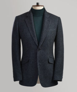 Blue Cashmere Sports Jacket Blazer