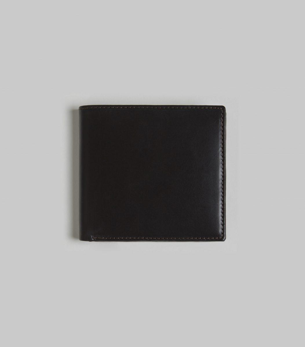 bb3bbfa4067 Havana Bridle 8 CC Billfold Wallet with Huntsman Exclusive Tweed Lining