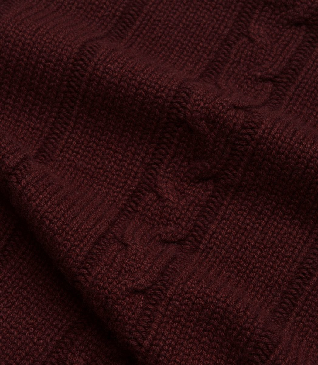 9df1c5da3439 Hand-knitted, one-hundred percent cashmere sourced from the highest peaks  of the Himalayas, this sweater offers one of the softest and most  comfortable ...