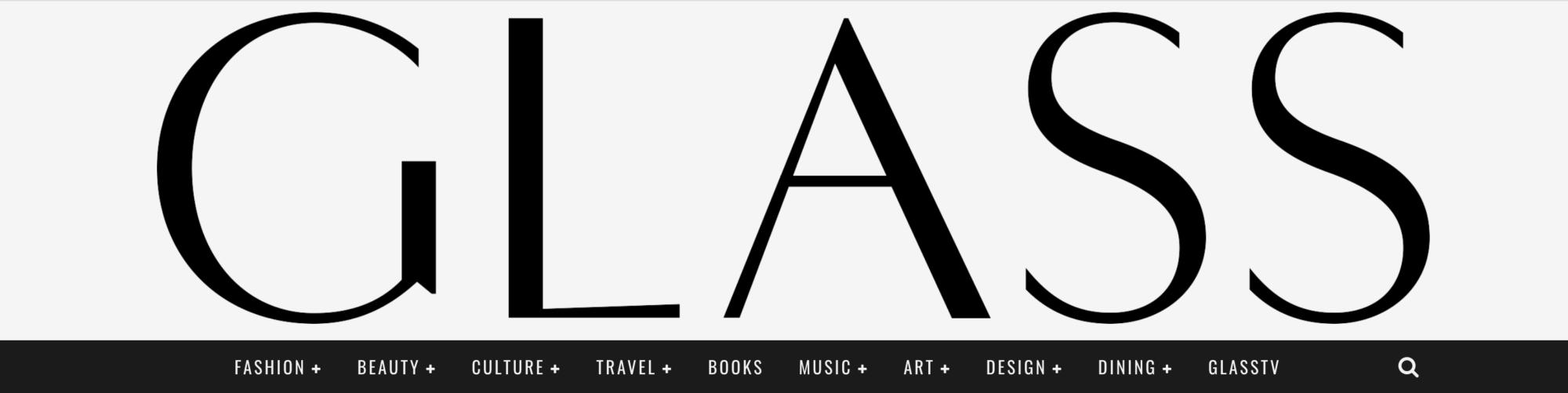 Glass magazine logo